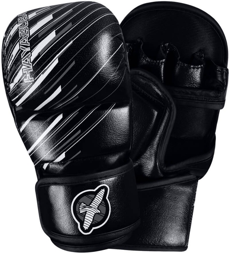 Перчатки для ММА Hayabusa Ikusa Charged 7oz Hybrid Gloves - Black