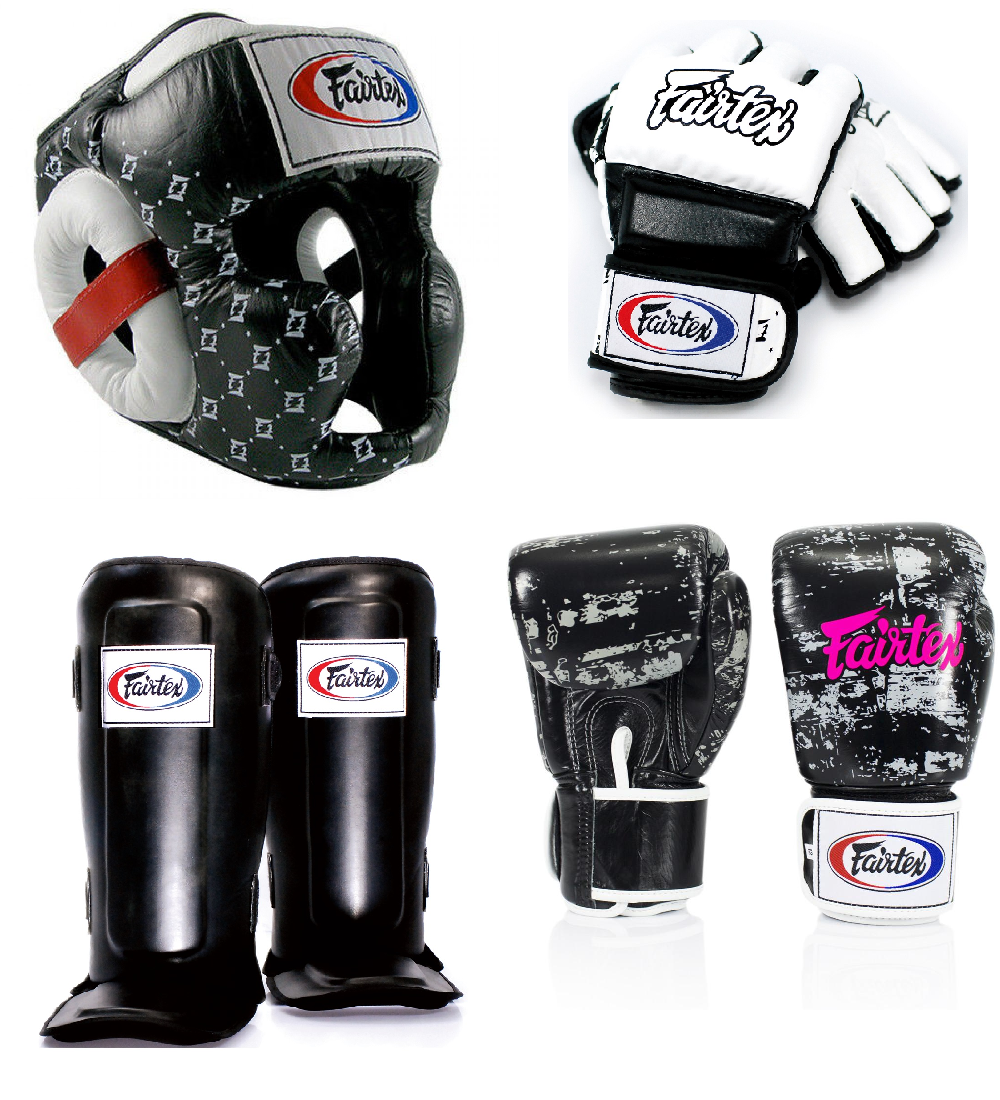 Набор Fairtex White/Black2
