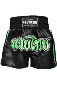 Шорты детские Revgear Kids Muay Thai Shorts Green &