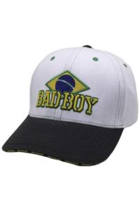 Бейсболка/Кепка Bad Boy Brazilian - White/Black