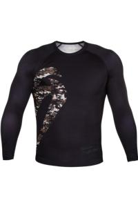 Рашгард Venum Original Giant Rasguard Long Sleeves Jungle Camo Black
