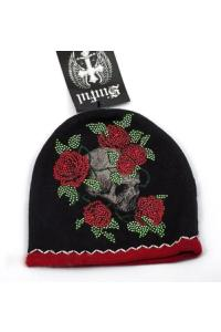 Шапка Affliction Sinful Wrapped Beanie Black